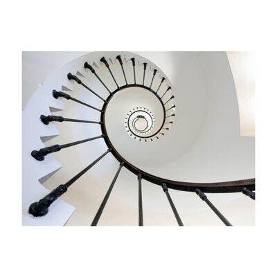 Fototapet - Stairs (lighthouse) - 200x154 Cm