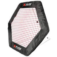 Pure2Improve Fotbollsrebounder nät hexagon 140x125cm