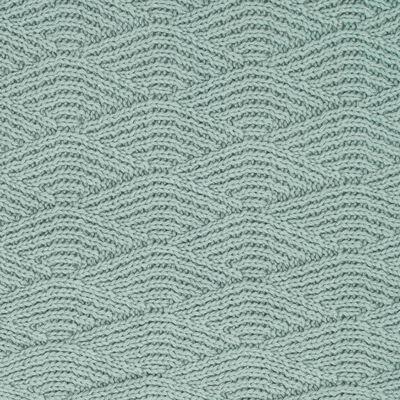 Jollein Filt River Knit 75x100 cm fleece askgrön
