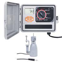 vidaXL Bevattningskontroll med regnsensor