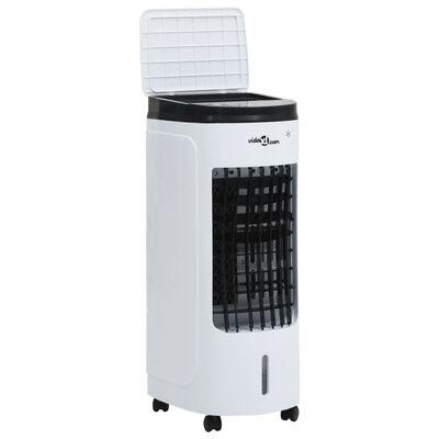 vidaXL 3-i-1 Portabel luftkylare vit och svart 60 W