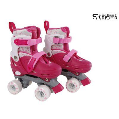 Street Rider Rullskridskor justerbara stl 27-30 rosa