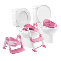BABYLOO Toaletträningspaket 3-i-1 rosa