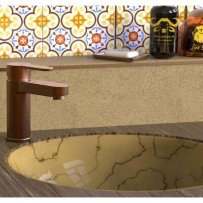 SCHÜTTE Tvättställsblandare ELEPHANT koppar matt