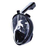 Helmasks cyklop med snorkel och GoPro fäste Svart L/XL