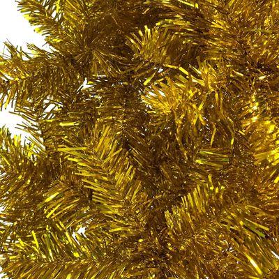 vidaXL Julgran smal guld 120 cm