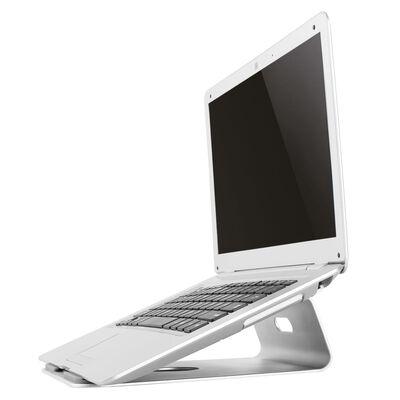 """NewStar Upphöjt laptopställ 10""""-17"""" aluminium"""