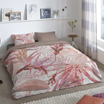 Good Morning Bäddset RAYMOND 155x220 cm rosa