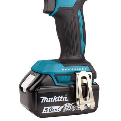 Makita Borrskruvdragare med batteri och laddare 18 V blå och svart